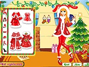Christmas Gift Girl Dressup
