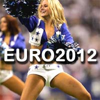 EURO 2012 Cheerleaders Footbal